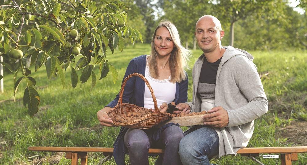 Tina Berlec in Mark Kališnik (Foto: Aljoša Rebolj)