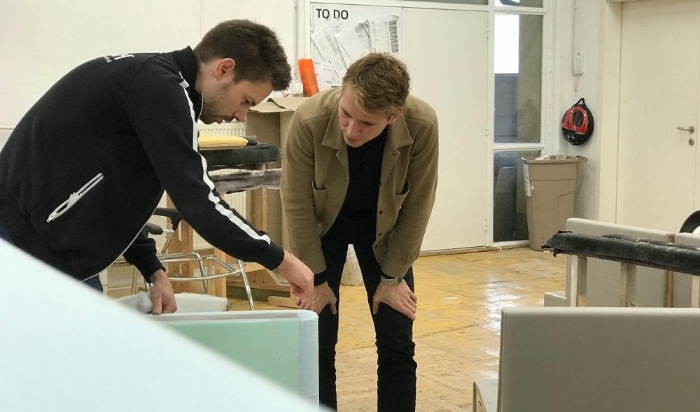 Sodelovanje z industrijskimi oblikovalci pri podjetju KAUCH (Vir: KAUCH