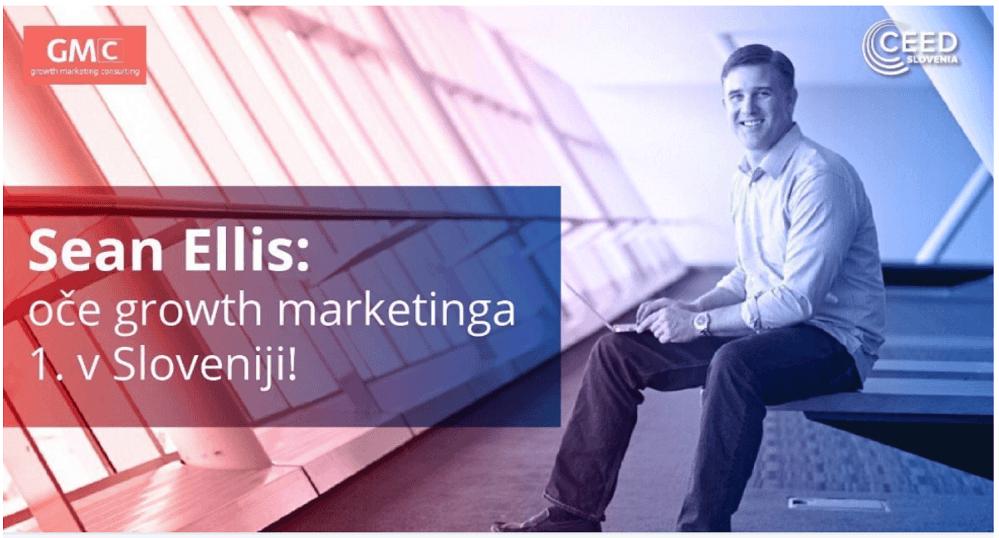 V Slovenijo prihaja Sean Ellis (Vir: http://growthmarketing.consulting)