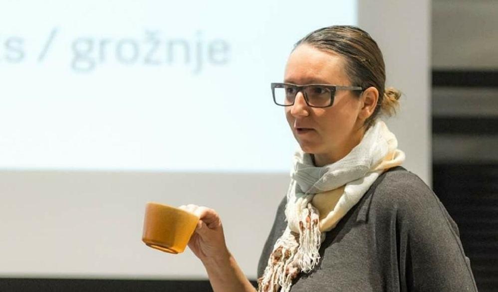 Predstavnica podjetja Evegreen, Eva Štraser (Vir: Evegreen)