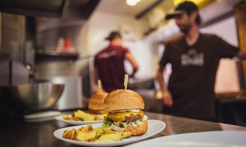 Projekt Burger (Vir: osebni arhiv)