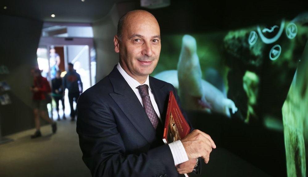 Zmagovalec izbora Slovenski podjetnik leta 2019, Marjan Batagelj (Vir: delo)