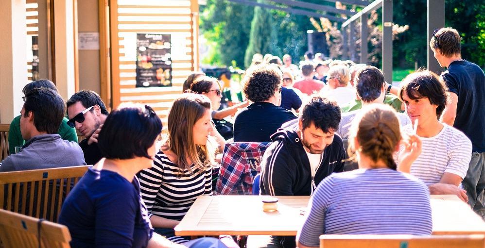 Projekt Burger se nahaja pri Kavarni Bazen Kranj (Vir: osebni arhiv)