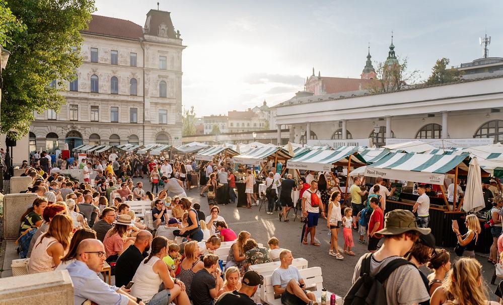 Lokacija Odprte kuhne v Ljubljani - Pogačarjev trg (Vir: Odprta kuhna)