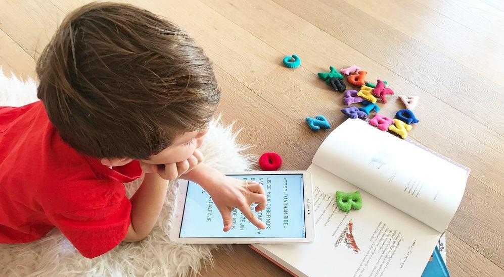 Aplikacija Kobi za otroke z disleksijo in drugimi bralnimi težavami (Vir: Hopalai)