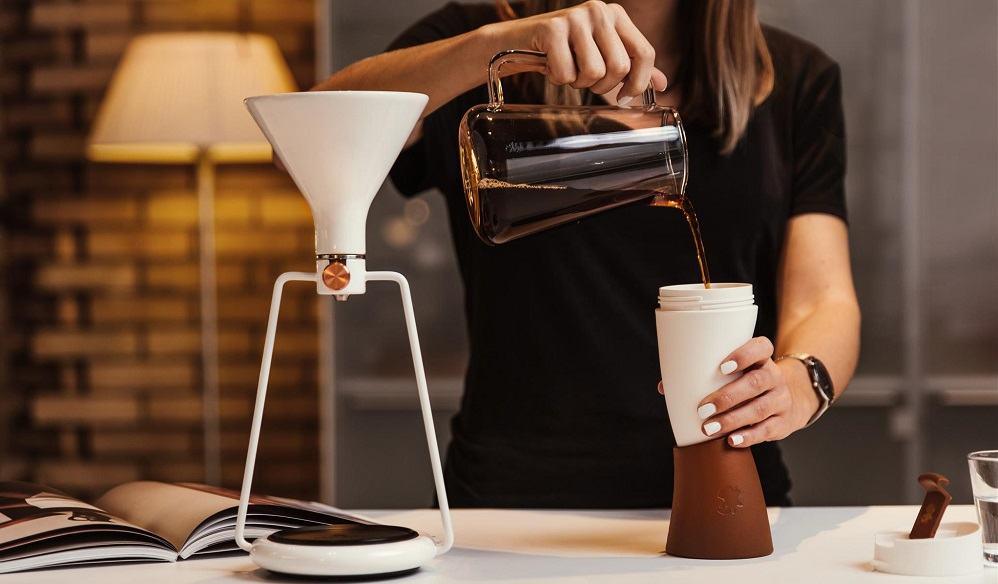Gina - aparat za pripravo kave (Vir: GOAT STORY)