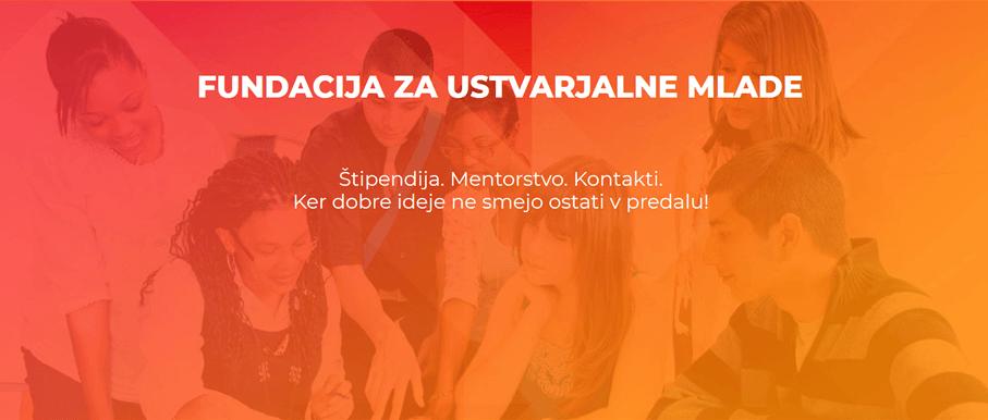 Fundacija za ustvarjalne mlade (Vir: fundacijaum.si)