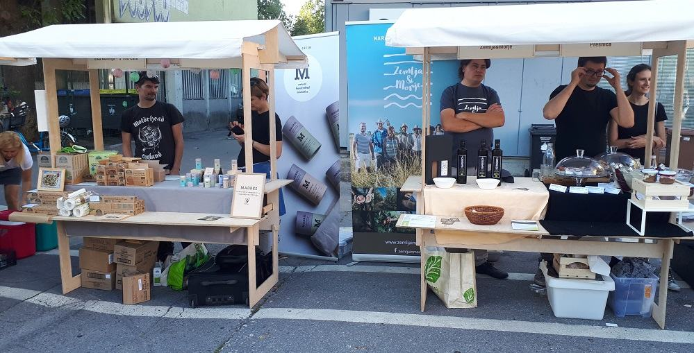Predstavitev dobaviteljev na dogodku (Foto: Petra Kušar)
