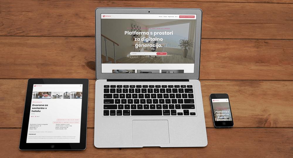Platforma OptiSpace - za občasen najem poslovnih prostorov (Vir: OptiSpace)