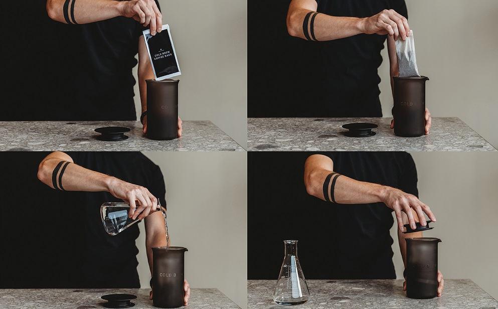 Nov izdelek blagovne znamke GOAT STORY: Cold Brew Kit (Vir: GOAT STORY)