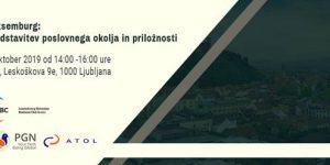 Luksemburg: predstavitev poslovnega okolja in priložnosti