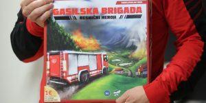 Nova izvirna slovenska družabna igra: Gasilska brigada – resnični heroji