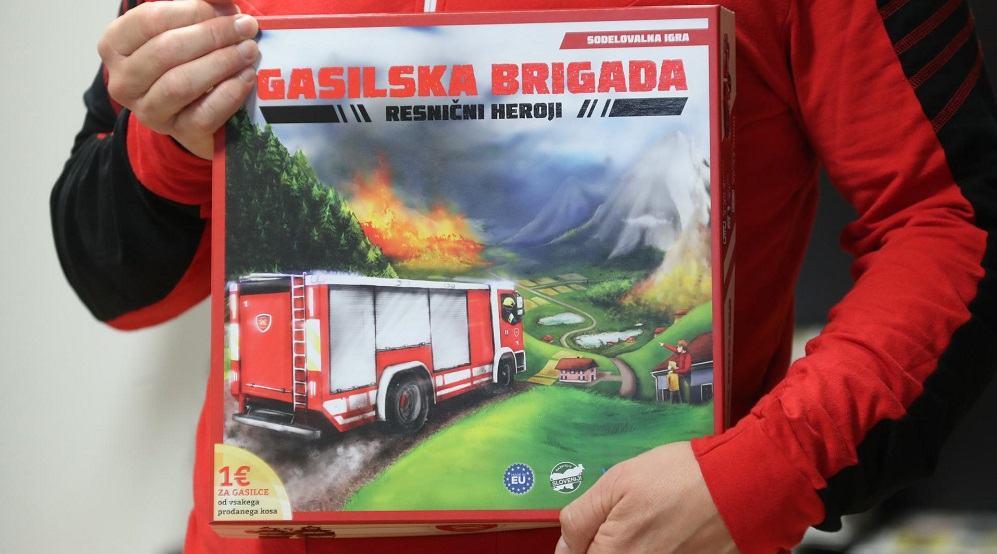 Namizna igra Gasilska brigada - resnični heroji (Foto: Dejan Javornik)