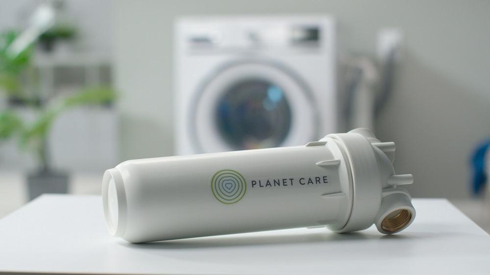 Filter, ki zadrži do 90 % plastičnih vlaken (Vir: Planet Care)