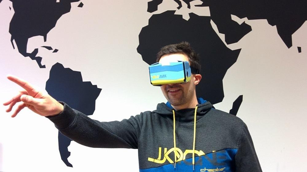 Kartonasta očala ViarBox (Vir: VIAR)