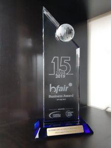 Nagrada s strani Gospodarske zbornice Luksemburg (Vir: LSBC)