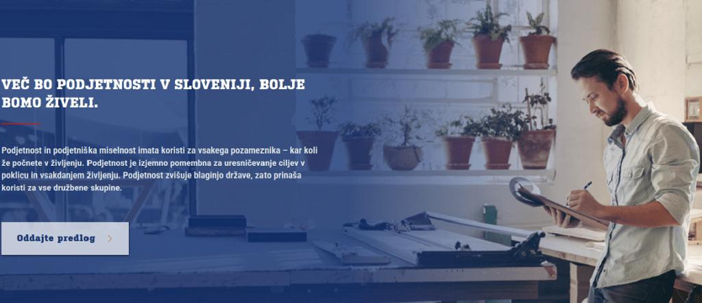 """Začenja se akcija """"ZA podjetno Slovenijo"""" (Vir: SBC)"""