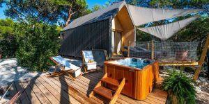 """Jaka Ažman: """"Lushna hiške želimo približati konceptu hotelskih sob v naravi."""""""