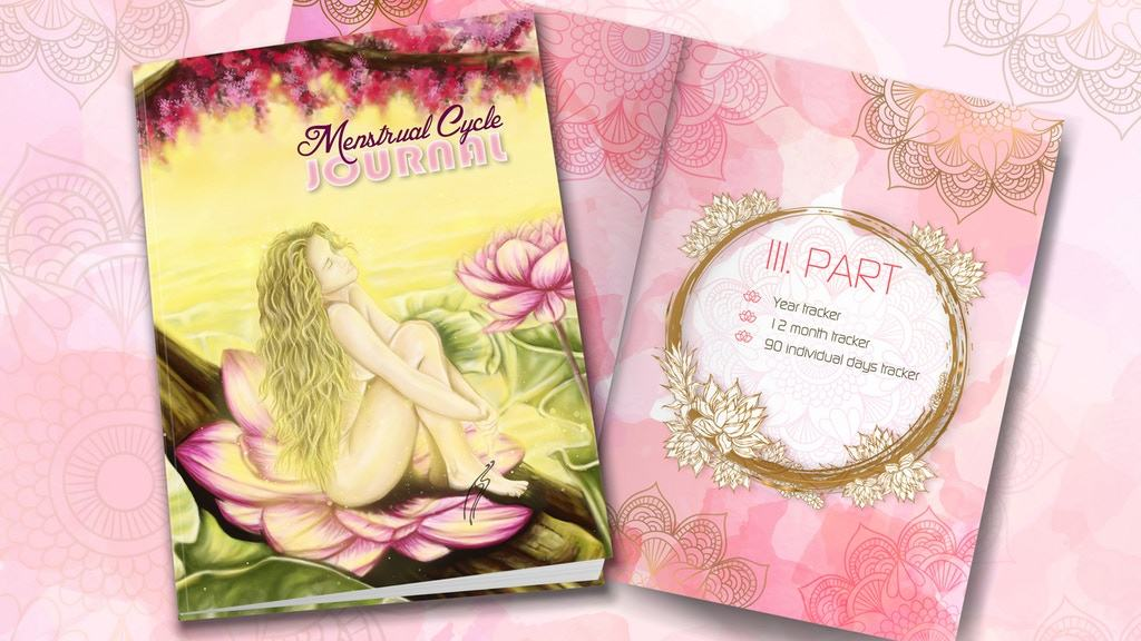 Menstrual Cycle Journal (Vir: Kickstarter)